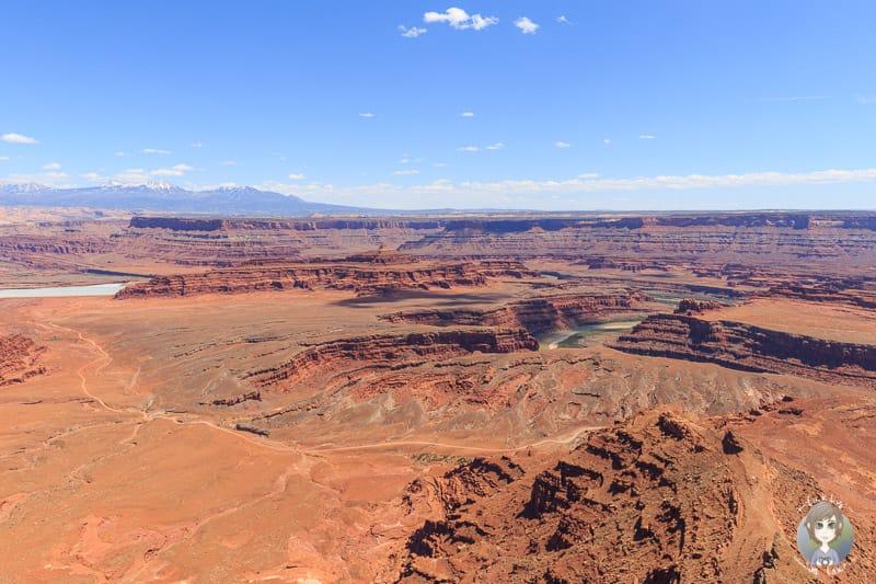 Gigantischer Ausblick vom Dead Horse Point Overlook