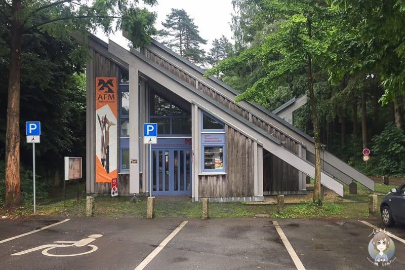 Eingang vom Archäologischen Freilichtmuseum Oerlinghausen
