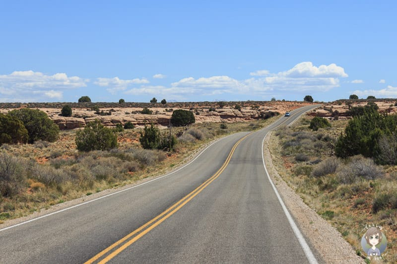 Auf unserer Fahrt durch den Canyonlands National Park