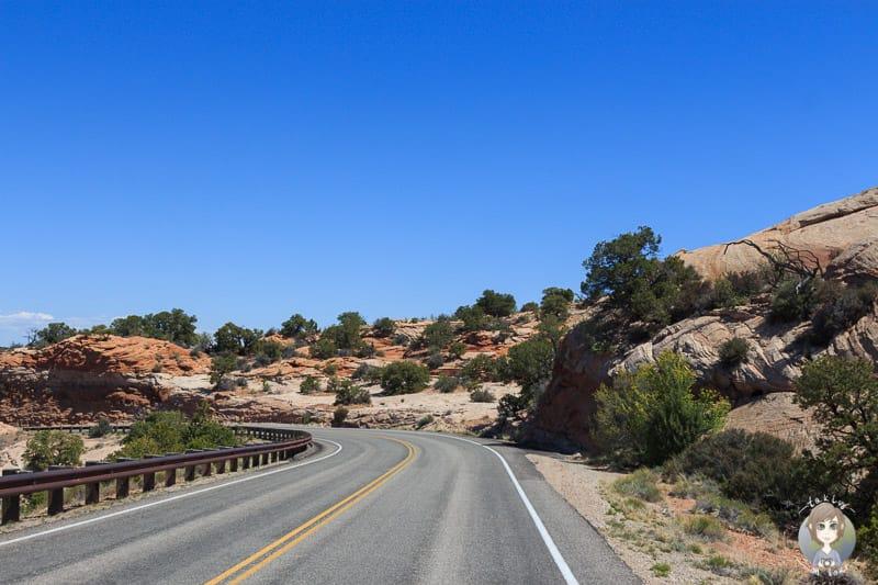 Fahrt durch den Dead Horse Point State Park