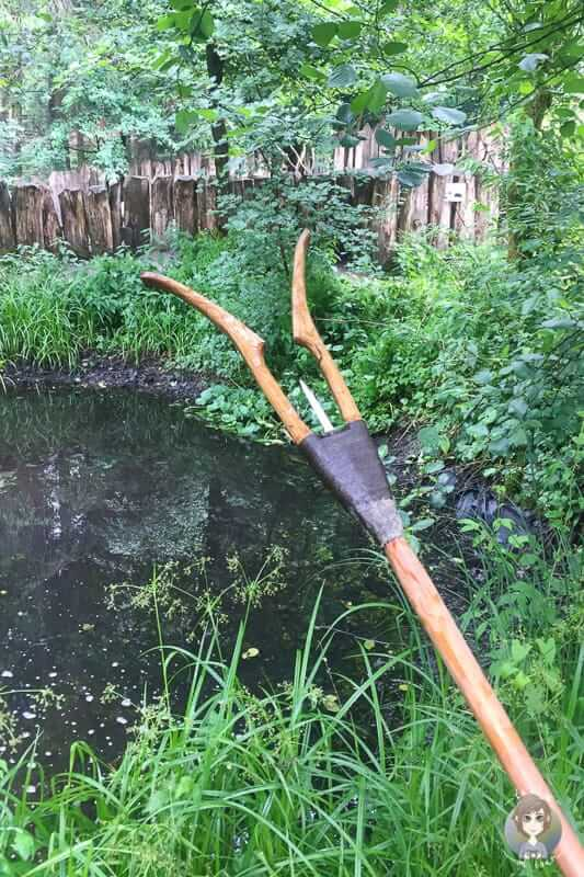 Gerät zum Fischfang in der Bronzezeit