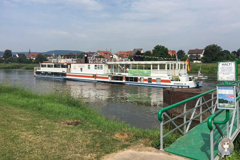 Dampferanleger Herstelle der Flotte Weser