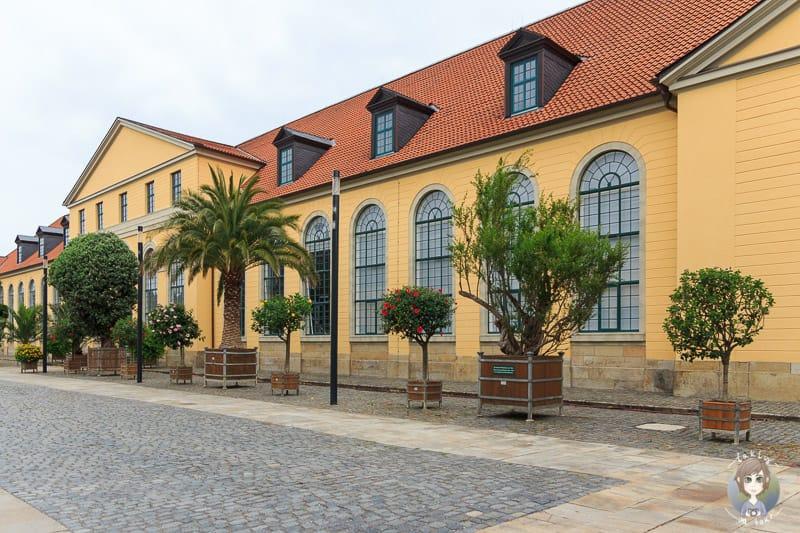 Auf dem Weg zum Schloss Herrenhausen