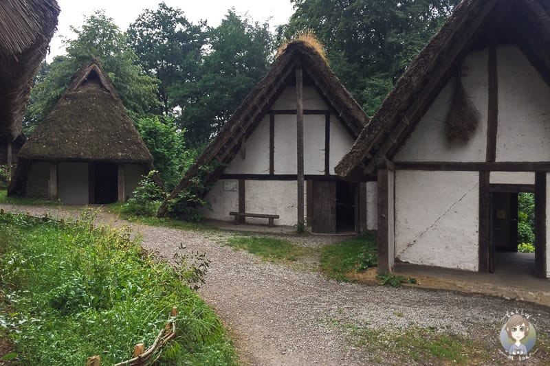 Das Germanengehöft im Archäologischen Freilichtmuseum Oerlinghausen
