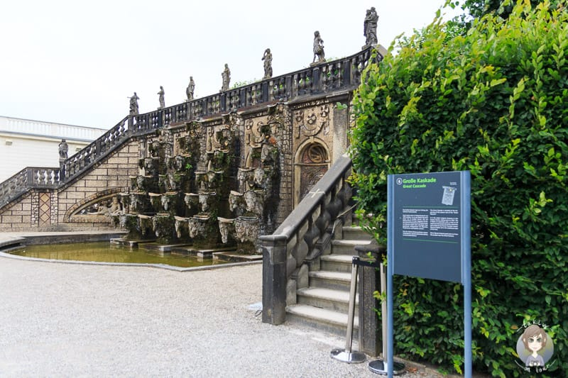 Die Große Kaskade im Großen Garten Herrenhausen