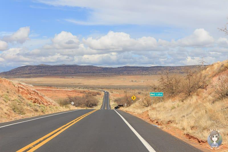Schönes Wetter auf dem Highway 160