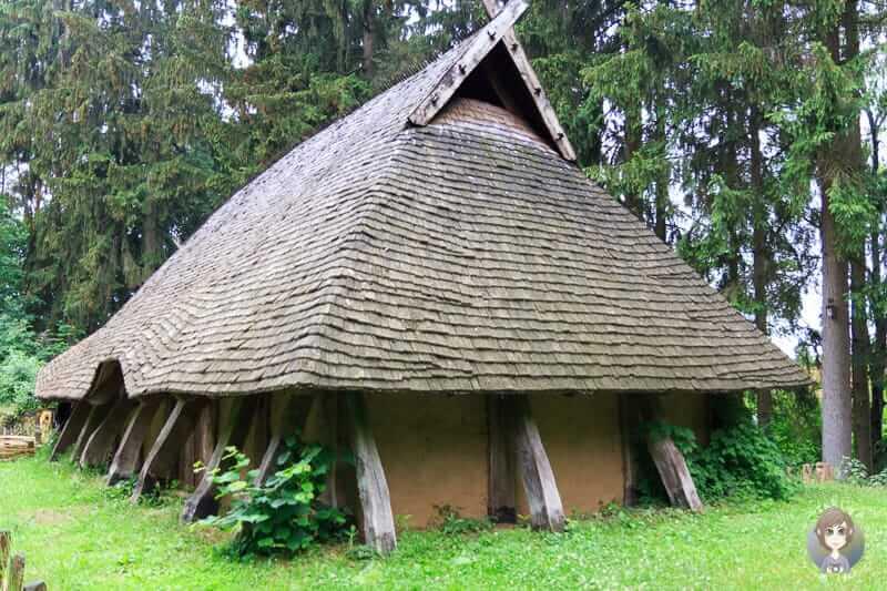 Eine Hofanlage aus dem Mittelalter im Freilichtmuseum Oerlinghausen