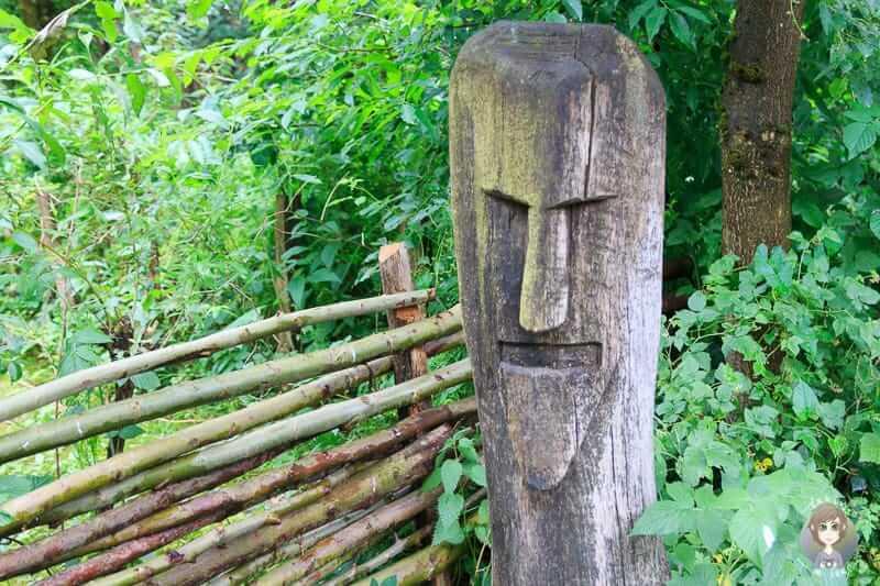 Idol zur Abgrenzung von Grenzen in der Bronzezeit