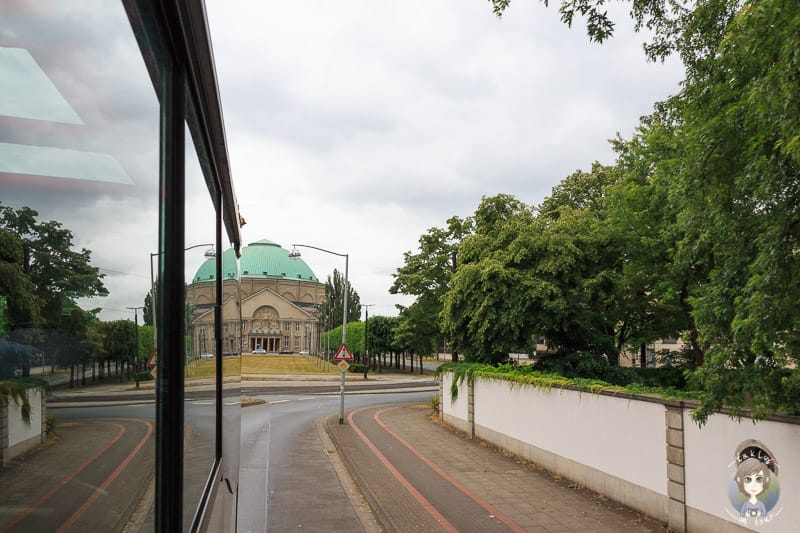 Blick auf das Kongresszentrum in Hannover