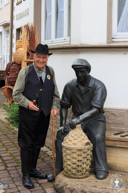 Der Korbmacher mit Rief Ewerling aus Dalhausen