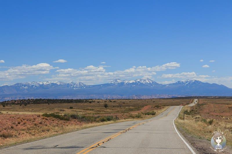 Eine traumhafte Landschaft auf der Fahrt Richtung Dead Horse State Park