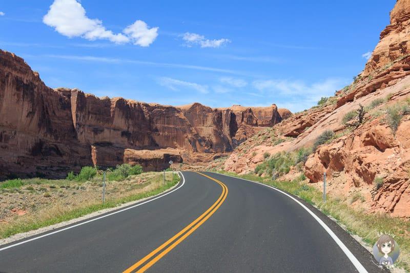 Schöne Landschaft nahe Moab