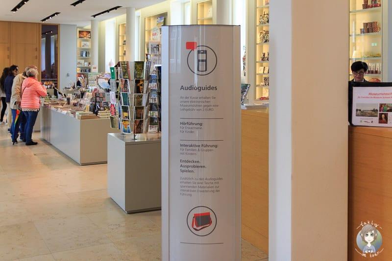 Eingang vom Museum Herrenhausen