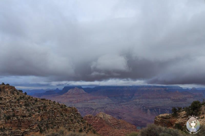 Aussicht vom Navajo Point im Grand Canyon National Park