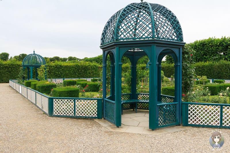 Niederdeutscher Rosengarten ist ein Sondergarten der Herrenhäuser Gärten