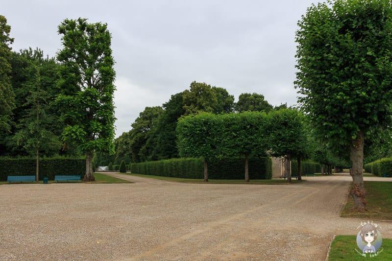 Die schöne Parkanlage Herrenhausen bietet sich für Spaziergänge an