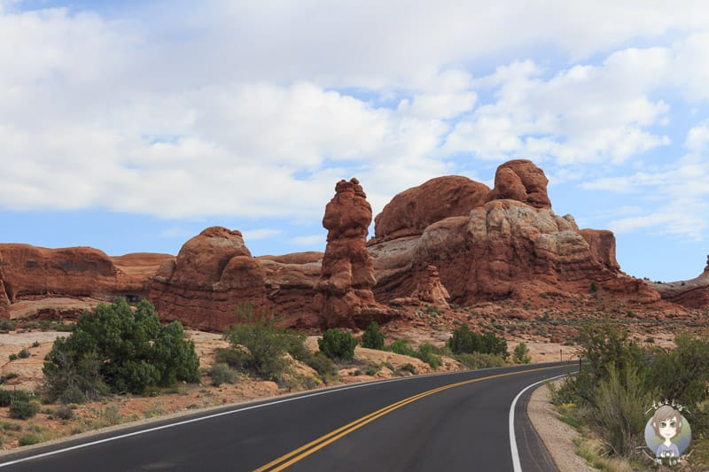 Die Rock Pinnacles im Arches National Park