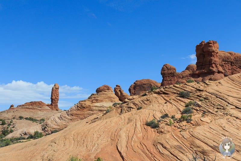 Slick Rocks im Arches Nationalpark