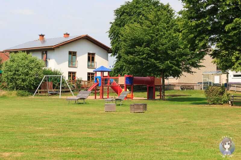 Spielplatz in Würgassen an der Weser