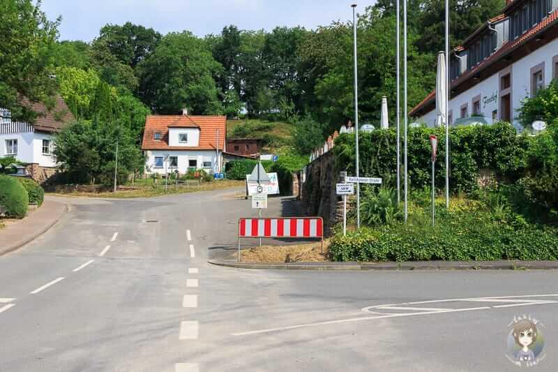 An der Hauptstraße in Würgassen