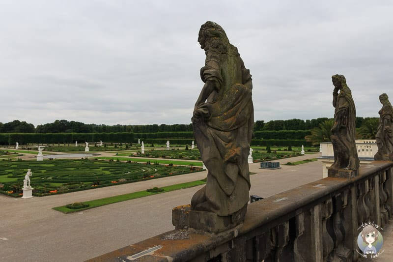 Statuen an der Großen Kaskade im Gorßen Garten Herrenhausen