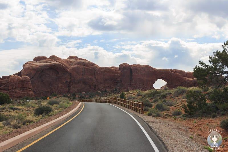 Aussicht auf der The Windows Road