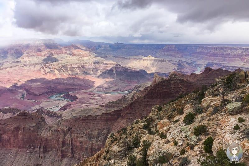 Blick auf den Grand Canyon im Südwesten der USA