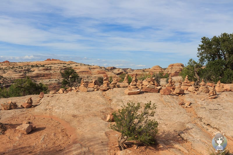 Die Viewing Area Richtung Canyonlands Nationalpark