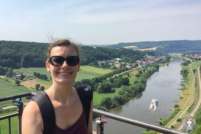 Mein Besuch auf dem Weser Skywalk