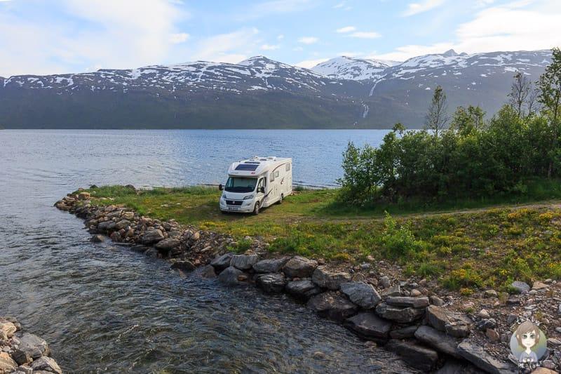 Wildcamping in Norwegen mit dem Wohnmobil erfordert Respekt und Umsicht
