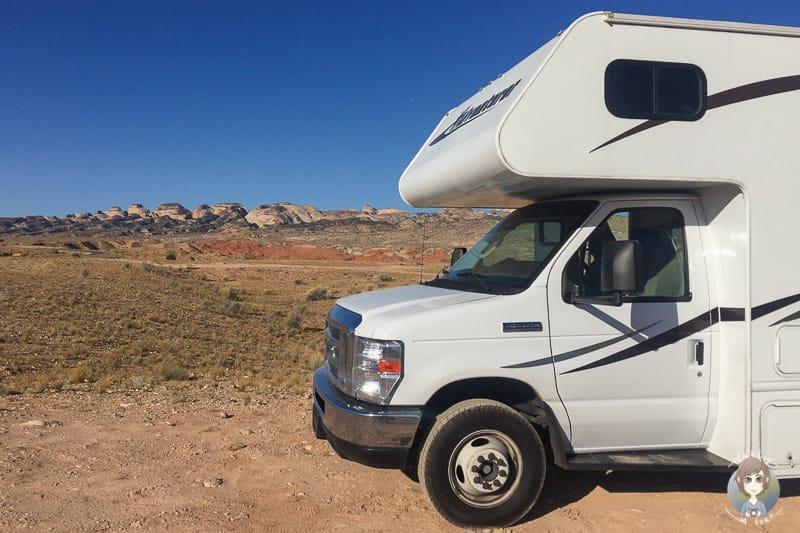 Unser Platz zum Wildcamping in den USA