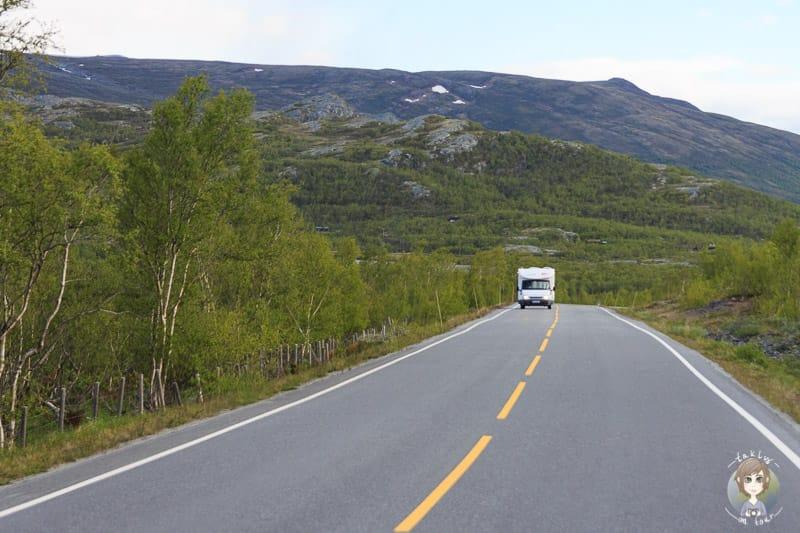 Anreise nach Norwegen mit dem Wohnmobil