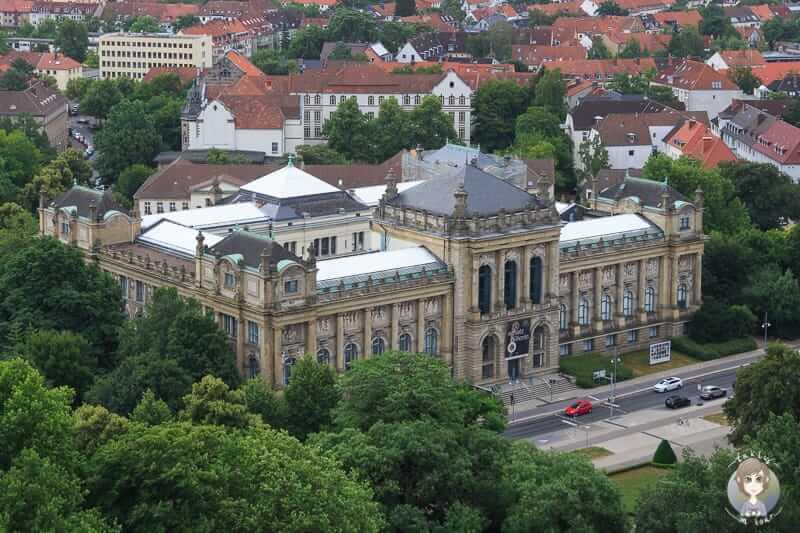 Aussicht auf Hannover