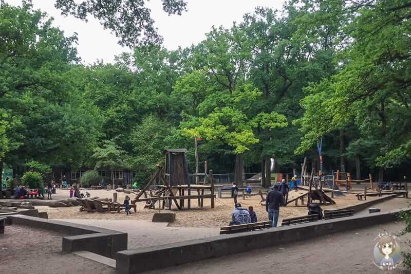 Wakitu Abenteuerspielplatz in der Eilenriede Hannover