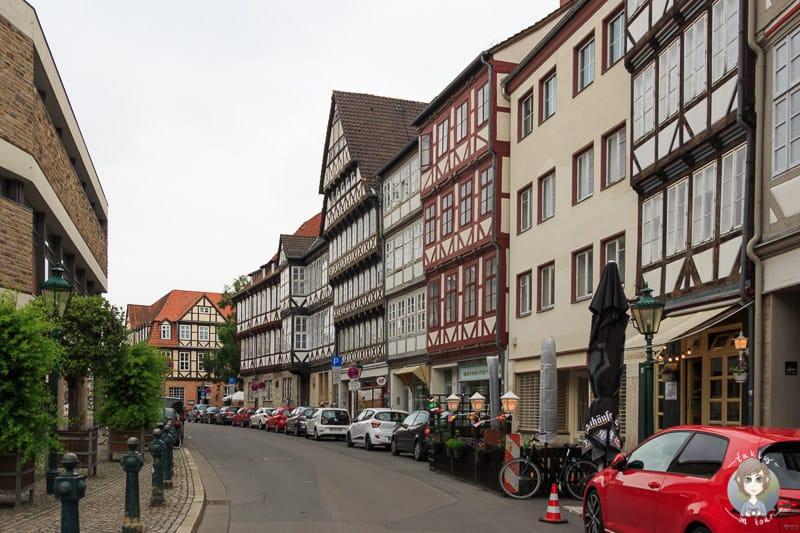 Fachwerkhäuser in der Altstadt Hannover