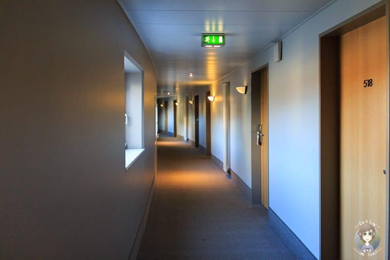 Der Flur im Novotel Hannover