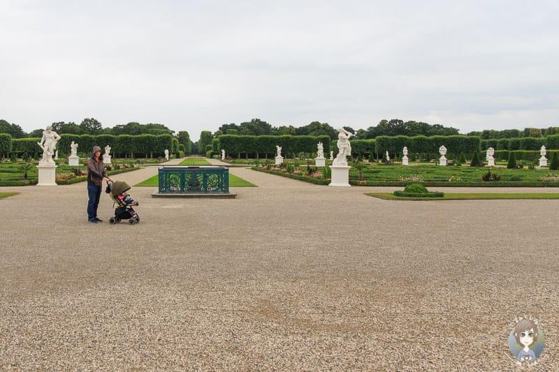 Besuch der Herrenhäuser Gärten in Hannover mit Kind