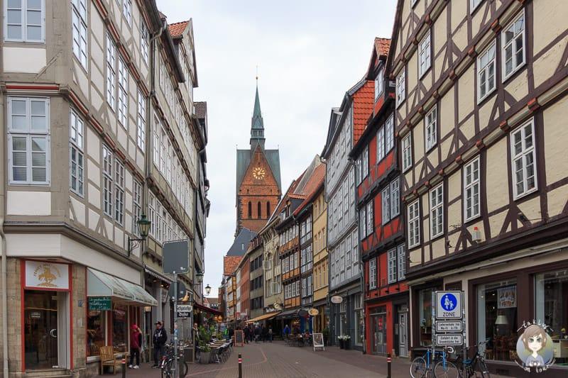 Die schöne Kramerstraße in Hannover