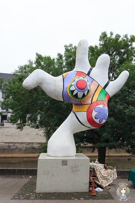Kunst auf den Straßen von Hannover