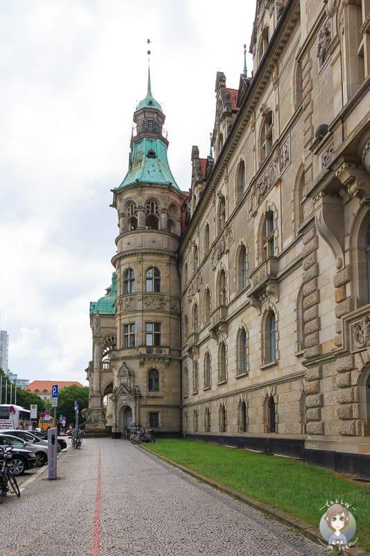 Der Rote Faden im Neuen Rathaus Hannover