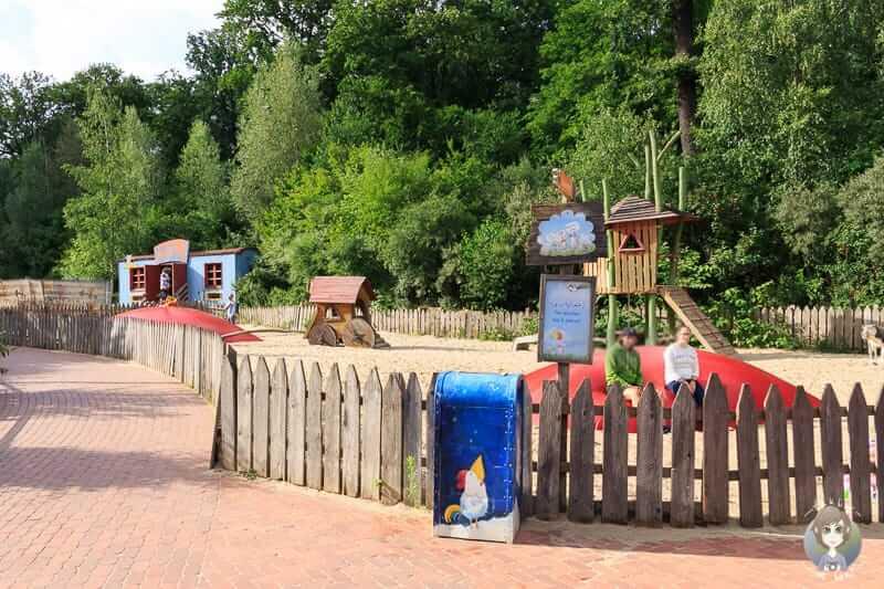 Ein Spielplatz im Zoo Hannover