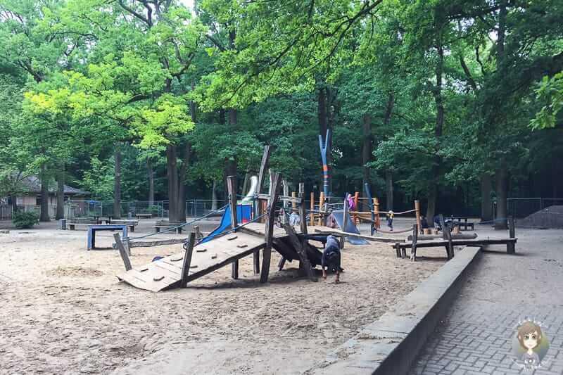 Spielplatz in der Eilenriede Hannover