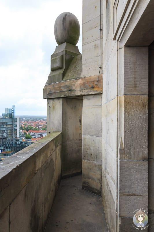 Die untere Aussichtsplattform in Hannover