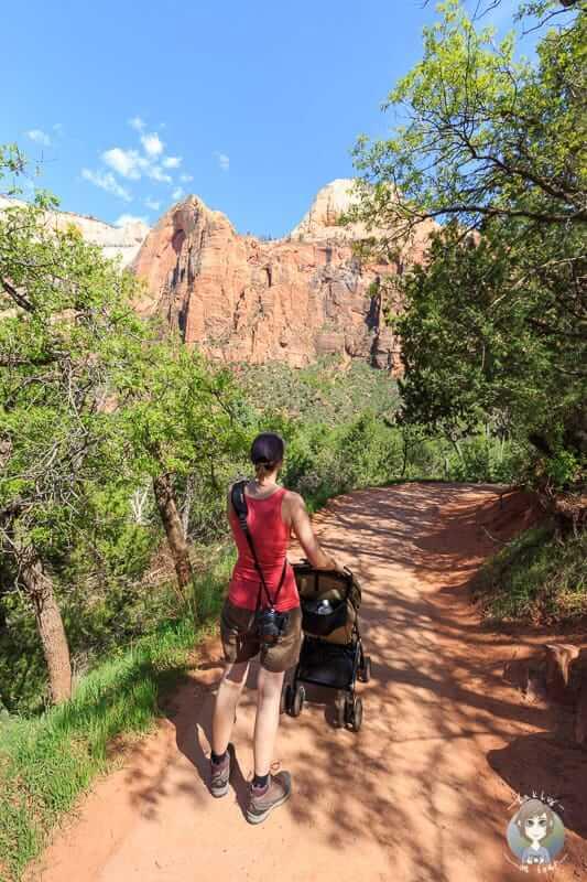 Barrierefreie Wanderung zu den Lower Emerald Pools