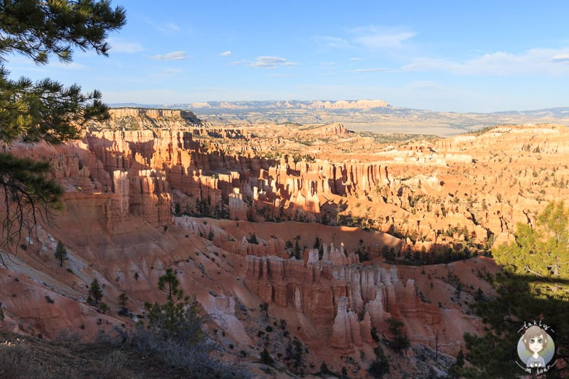 Sonnenuntergang am Sunset Point im Bryce Canyon