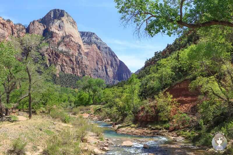 Tolle Aussichten auf dem Lower Emerald Pool Trail