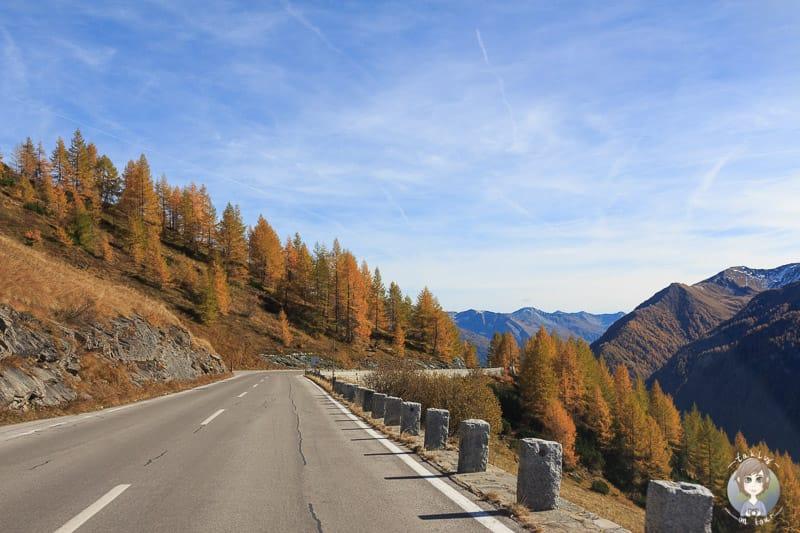 Herbstfarben auf der Grossglockner Hochalpenstrasse
