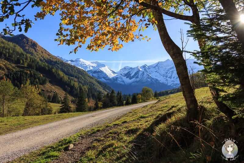 Herbstlicher Spaziergang in Ferleiten