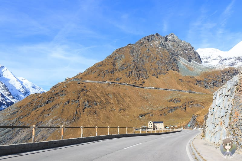 Panoramastrasse im Nationalpark-Hohe Tauern am Grossglockner