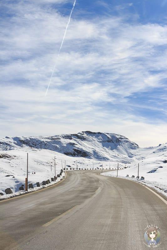 Fahrt über die Panoramastrasse durch den Nationalpark Hohe Tauern